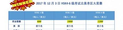 《明报》:HSK4-6级汉语考试设奖学金 成绩优异获600-1200美元!